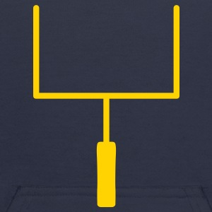 Navy Football Goal Posts Sweatshirts - Kids' Hoodie