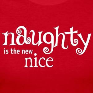 Naughty is the new nice - Women's Long Sleeve Jersey T-Shirt