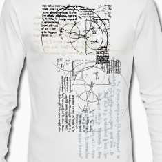 White new invention designs Long sleeve shirts