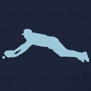 Navy baseball dive Women's T-shirts - Women's T-Shirt