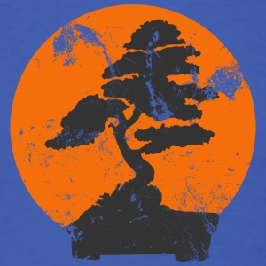 Royal blue Miyagi Banzai Tree Karate Kid Patch T-Shirts - Men's T-Shirt