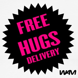 FREE HUGS DELIVERY - Men's Ringer T-Shirt