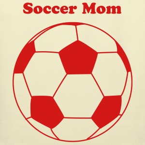 Creme Soccer ball,soccer mom,or soccer champion Bags  - Eco-Friendly Cotton Tote
