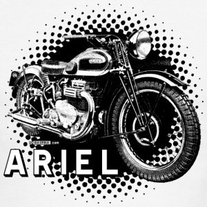 White/black Ariel - dd - AUTONAUT.com T-Shirts - Men's Ringer T-Shirt