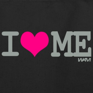 Black i love me by wam Bags  - Eco-Friendly Cotton Tote