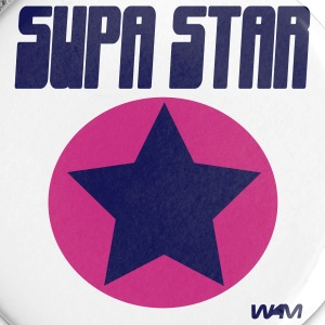 White supastar by wam Buttons - Large Buttons