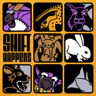 Design ~ Shift Happens Grid (Black Text)