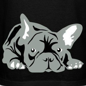 Black French Bulldog big T-Shirts - Men's T-Shirt