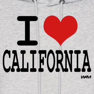 Ash  i love california by wam Hoodies - Men's Hoodie