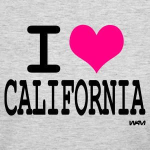 Gray i love california by wam Long sleeve shirts - Women's Long Sleeve Jersey T-Shirt