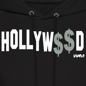 Black hollywood_money by wam Hoodies - Men's Hoodie