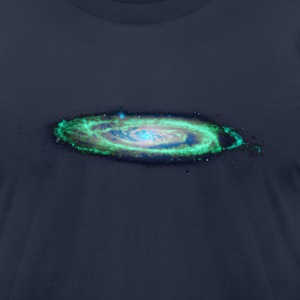 The Milky Way T-Shirts Navy - Men's T-Shirt by American Apparel