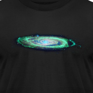 The Milky Way T-Shirts Black - Men's T-Shirt by American Apparel