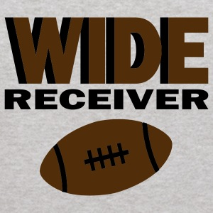 Heather grey Wide Receiver With Football Sweatshirts - Kids' Hoodie