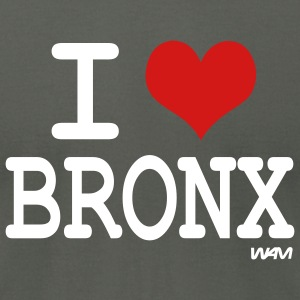 Asphalt i love bronx NYC by wam T-Shirts - Men's T-Shirt by American Apparel