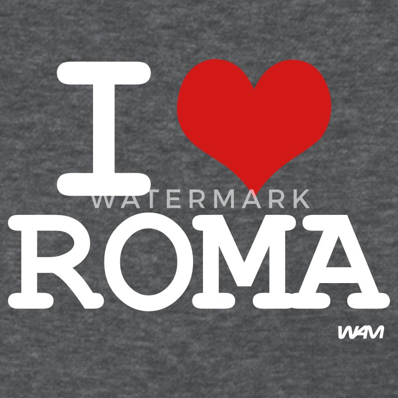 Deep heather i love roma by wam Women's T-shirts - Women's T-Shirt