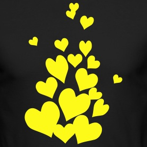 Hearts - Men's Long Sleeve T-Shirt by Next Level