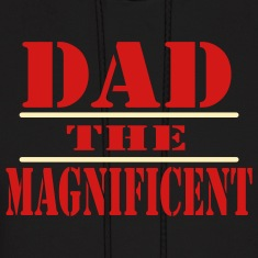 Black Dad The Magnificent Hoodies