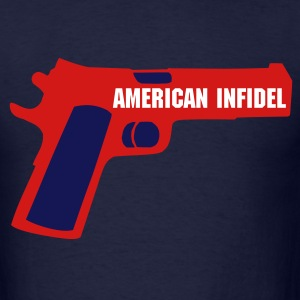 American Infidel - Men's T-Shirt