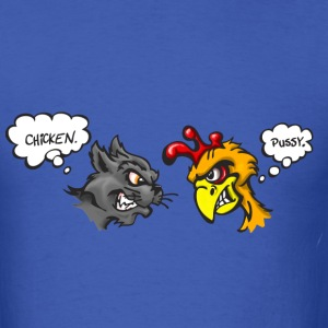 The Chicken and the Pussy - Men's T-Shirt