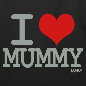 Black i love mummy by wam Bags  - Eco-Friendly Cotton Tote