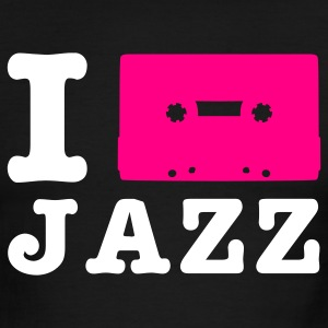 Black/white i love jazz T-Shirts - Men's Ringer T-Shirt