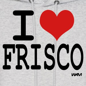 Ash  i love frisco by wam Hoodies - Men's Hoodie