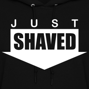 Black just_shaved Hooded Sweatshirts - Women's Hoodie