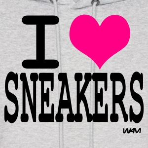 Ash  i love sneakers by wam Hoodies - Men's Hoodie