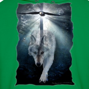 "Wolf & Eagle (""The Gathering"") - Men's Hoodie"
