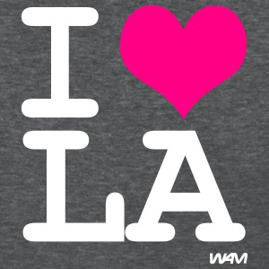 Deep heather i love LA by wam Women's T-shirts - Women's T-Shirt