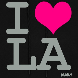 Black i love LA by wam Hooded Sweatshirts - Women's Hoodie