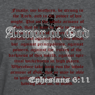 Design ~ Armor of God, Cool Christian Women's T-Shirts, Ephesians
