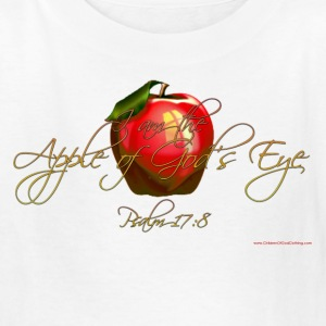 White Apple of Gods Eye Christian T-Shirts Kids Shirts - Kids' T-Shirt