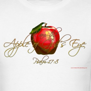 White Apple of Gods Eye Christian T-Shirts T-Shirts - Men's T-Shirt