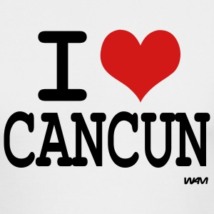 White i love cancun by wam Long sleeve shirts - Men's Long Sleeve T-Shirt by Next Level