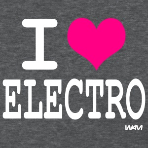 Deep heather i love electro by wam Women's T-shirts - Women's T-Shirt