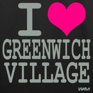 Black i love greenwich village by wam Bags  - Eco-Friendly Cotton Tote