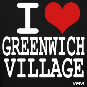 Black i love greenwich village by wam Long sleeve shirts - Women's Long Sleeve Jersey T-Shirt
