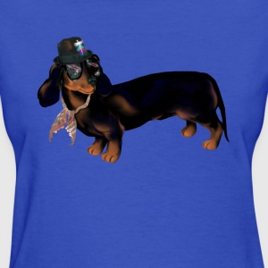 Fancy Dachshund - Women's T-Shirt