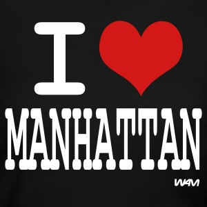 Black i love manhattan by wam Long sleeve shirts - Women's Long Sleeve Jersey T-Shirt
