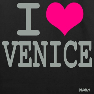 Black i love venice by wam Bags  - Eco-Friendly Cotton Tote