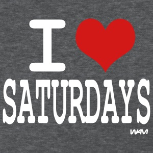 Deep heather i love saturdays by wam Women's T-shirts - Women's T-Shirt
