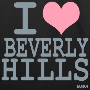 Black i love beverly hills by wam Bags  - Eco-Friendly Cotton Tote