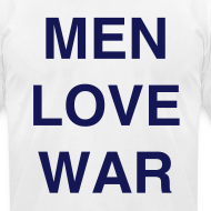 Design ~ MEN LOVE WAR (Chanukah)