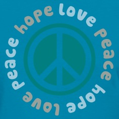 Peace Hope Love