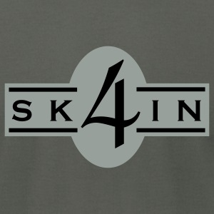 4Skin - Men's T-Shirt by American Apparel