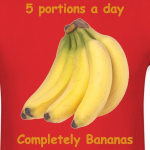 Red Completely Bananas T-Shirts - Men's T-Shirt