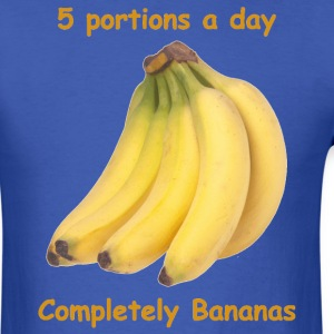 Royal blue Completely Bananas T-Shirts - Men's T-Shirt