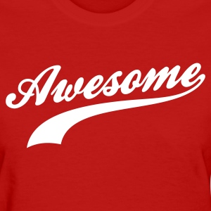 Red Awesome Women's T-shirts - Women's T-Shirt
